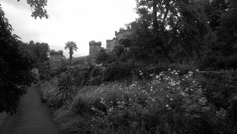 Culzean Castle from the lower court