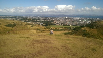 View of Edinburgh from King Arthur's Seat