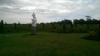 Statue in the garden, Hampton Court
