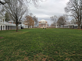 Decided to make a pit stop at UVA after visiting with Nelson Byrd Woltz.